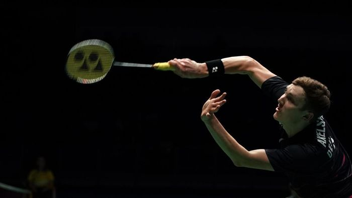 Viktor Axelsen absen dari Indonesia Open 2019. (Stanley Chou/Getty Images)
