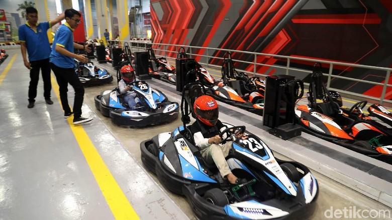 Wahana Formula Kart di Trans Studio Cibubur (Pradita Utama/detikcom)