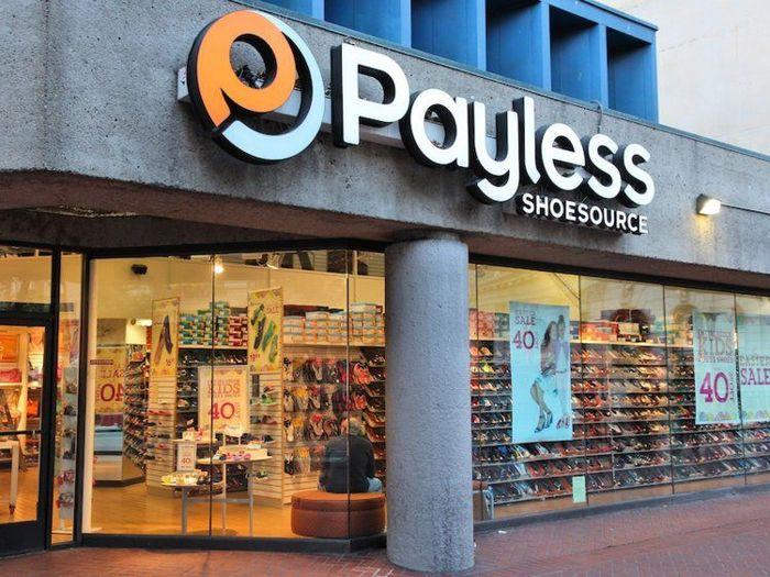 Payless ShoeSource mengajukan kebangkrutan pada Februari dan telah memulai proses penutupan semua 2.500 toko di seluruh Amerika Utara. Istimewa/Business Insider.