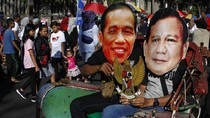 Jokowi dan Prabowo Naik Becak Bareng di Solo