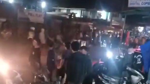 Sejumlah Orang Terlibat Keributan Dekat Lokasi Konser di Sukabumi