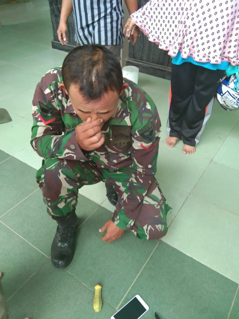 Oknum TNI Ditangkap Warga Curi Kotak Amal Masjid di Palembang