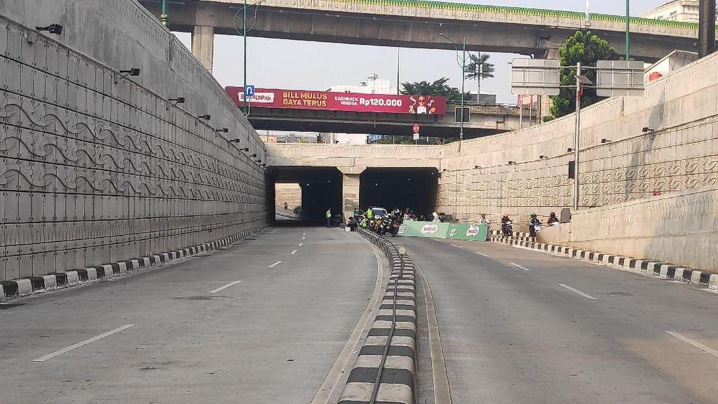 Underpass Mampang-Kuningan Ditutup Terkait Maraton, Lalin Dialihkan