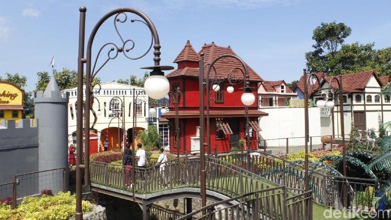 Wahana baru Kota Mini di Floating Market Lembang