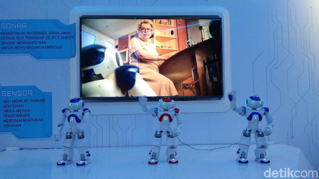 Bermain dengan Robot Nao dan Pepper di Trans Studio Cibubur