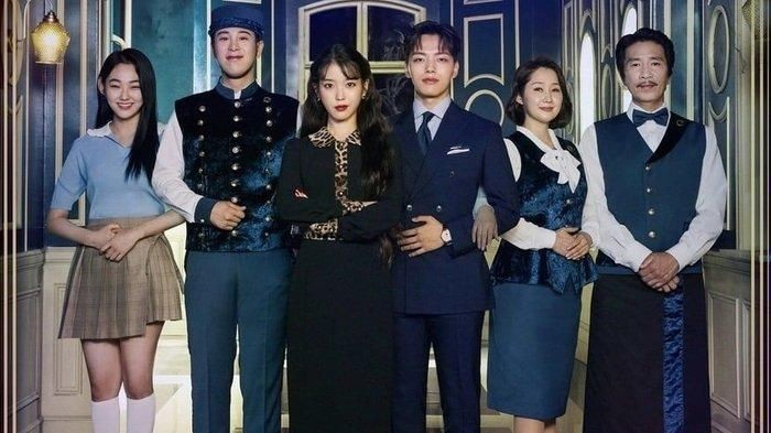 Para pemain drama Korea Hotel Del Luna. Foto: Istimewa