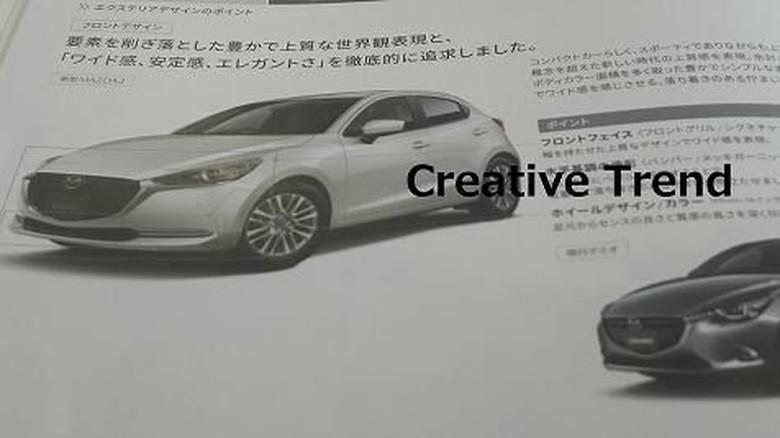 Mazda2 Facelift. Foto: Creative Trend