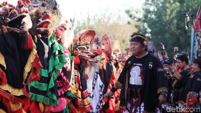 Tari barong di Kediri/Foto: Andhika Dwi