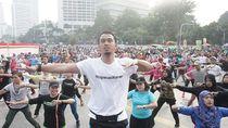 Hari Koperasi Nasional, Kemenkop Gelar Senam Bareng di CFD Jakarta