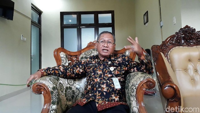 Kepala Disikpora Kabupaten Gunungkidul, Bahron Rosyid. Foto: Pradito Rida Pertana/detikcom