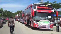 Tiket Pesawat Mahal, Calon Haji Pasangkayu ke Makassar Naik Bus