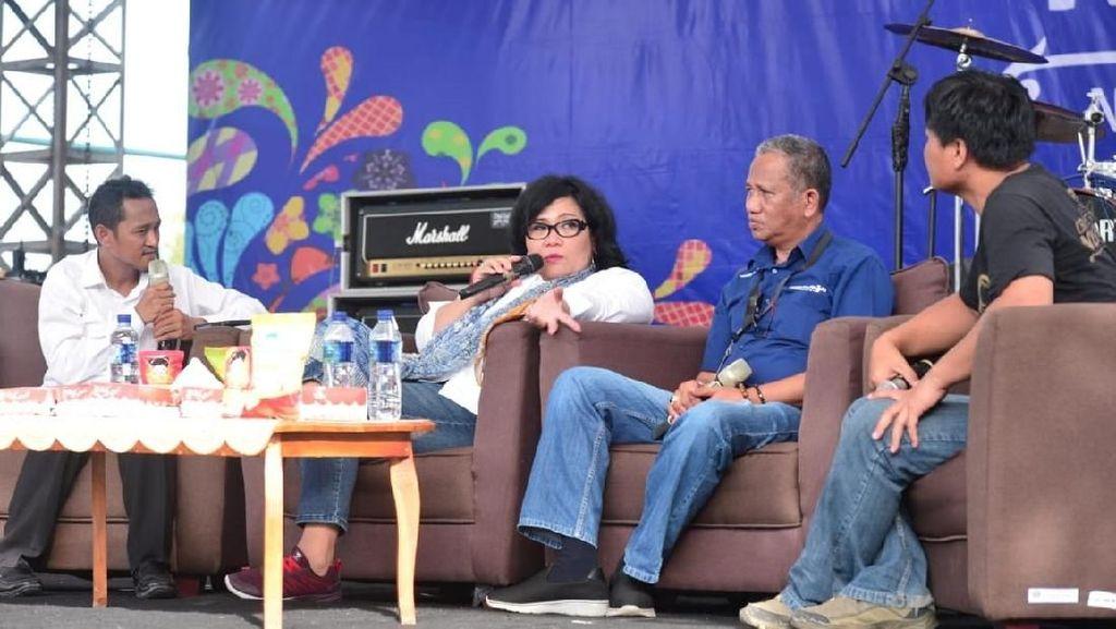 Penasaran, Jurnalis Asal Malaysia Liput Festival Crossborder Nunukan
