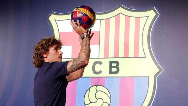 Griezmann Bertekad Sapu Bersih Gelar di Barcelona