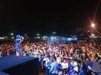 Jenita Janet Goyang Warga Kudus di BYMS 2019