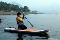 Mau Main Paddle Board Seperti Bu Susi? ke Purwakarta Saja