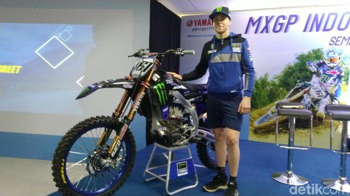 Romain Febvre meraih pole position di MXGP Semarang (Angling Adhitya Purbaya/detikSport)
