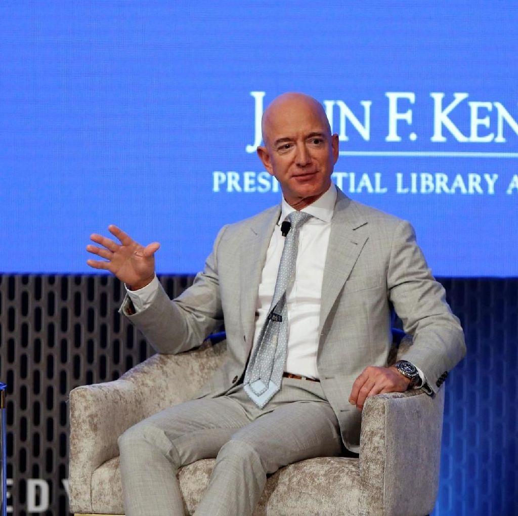 Rakyat AS Harus Kerja Jutaan Tahun Buat Samai Harta Jeff Bezos