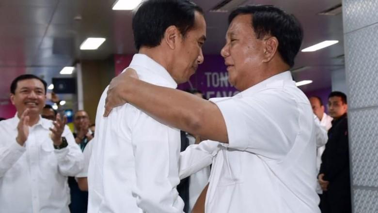 Jokowi dan Prabowo Bahas Peluang Gerindra Gabung Pemerintah