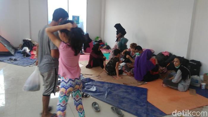 Para Pencari Suaka di Kalideres. (Foto: Adhi Indra/detikcom)
