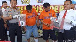 Rampas Uang Rp 40 Juta, 2 Bandit Jalanan di Kediri Dilumpuhkan