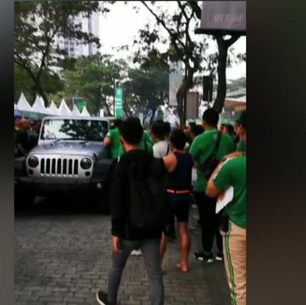 Polisi Sita Jeep Rubicon yang Tabrak Panitia Maraton