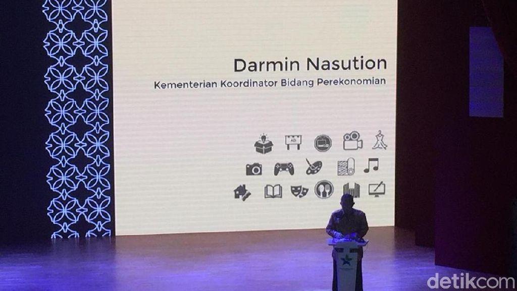 Darmin, Triawan hingga Ridwan Kamil Kongkow Bahas Ekonomi Kreatif