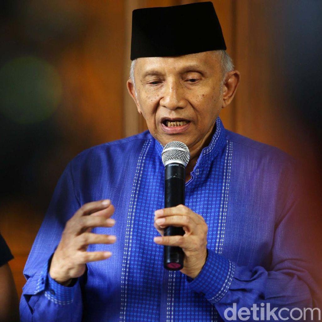 Amien Rais Kini: Jamin Tak Ganggu Jokowi, Minta PAN Tetap Oposisi