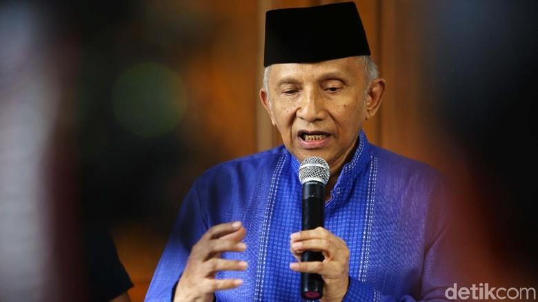 Prabowo-Jokowi Bertemu, Amien Rais Minta Pendukung Tak Salah Paham