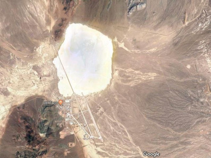 Area 51. Foto: Screenshot Google Maps