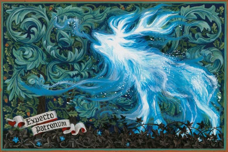 Unik Banget! 26 Ilustrator Buku Anak Gambar Patronus Harry Potter Foto: Pottermore/ Istimewa