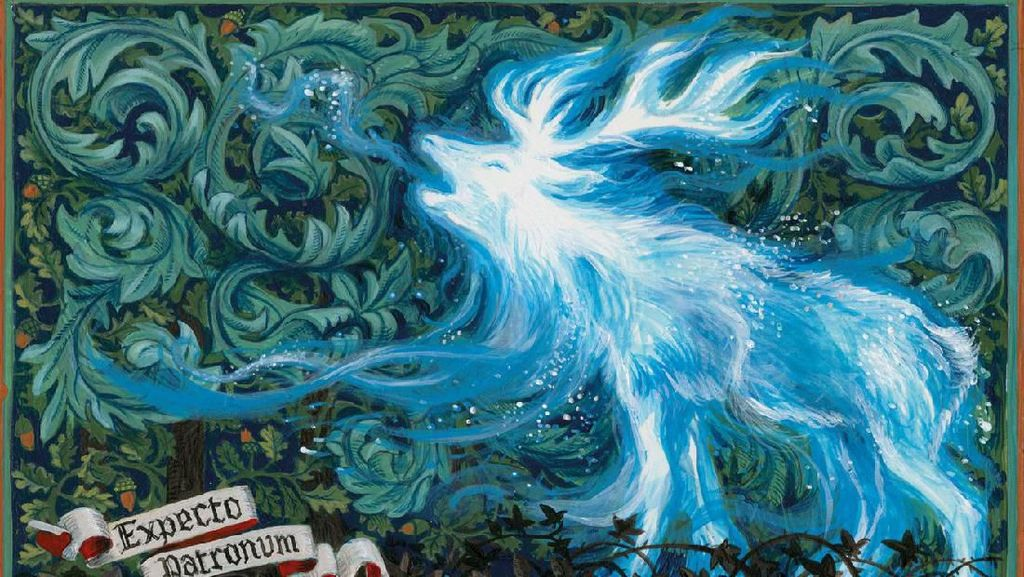 Unik Banget! 26 Ilustrator Buku Anak Gambar Patronus Harry Potter