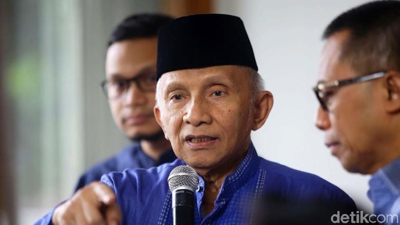Amien Rais: Please, Sebaiknya Ada Oposisi di Parlemen dari Pro-Prabowo