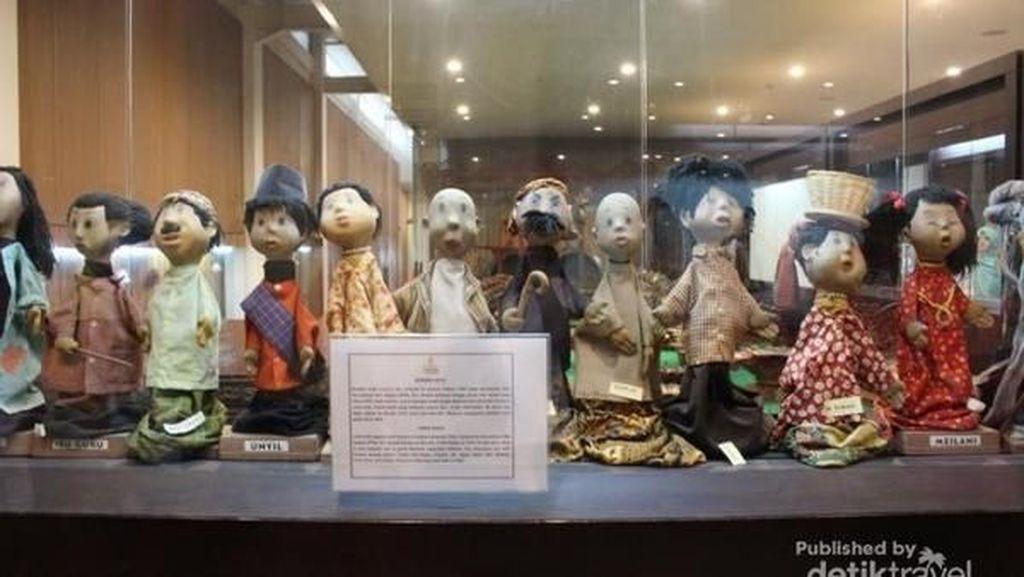 Di Museum Wayang Ada Unyil, Kamu Sudah Pernah Melihatnya?