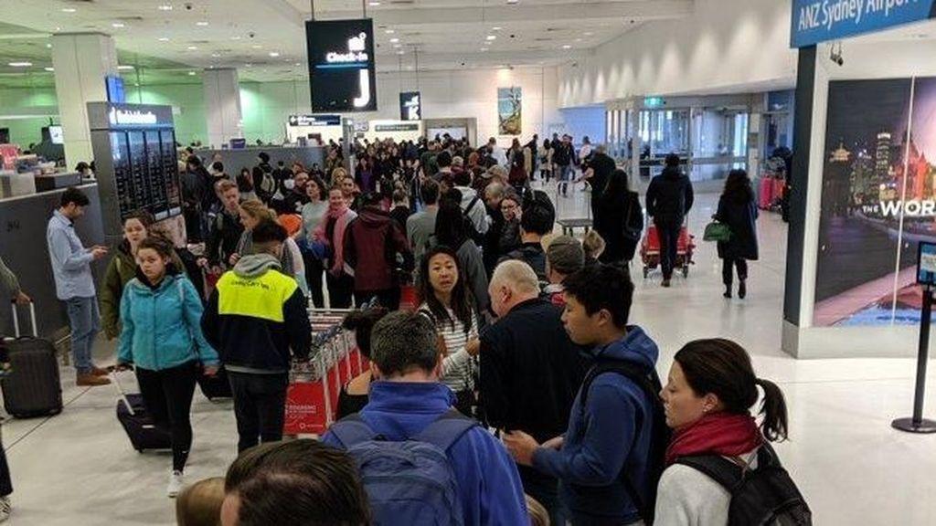 Mesin Pengecek Paspor di Bandara Australia Terganggu, Terjadi Antrean Panjang