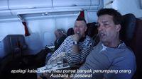 Ramai Menu Garuda Indonesia Ditulis Tangan, Rius Vernandes Beri Penjelasan