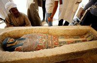 Piramida ini merupakan makam paraoh Snefru (Mohamed Abd El Ghany/Reuters)