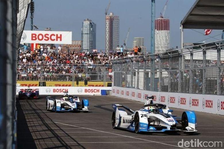 Ilustrasi balapan Formula E. Foto: BMW