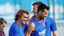 Skuat Pramusim Barcelona: Griezmann Masuk, Messi-Coutinho Absen