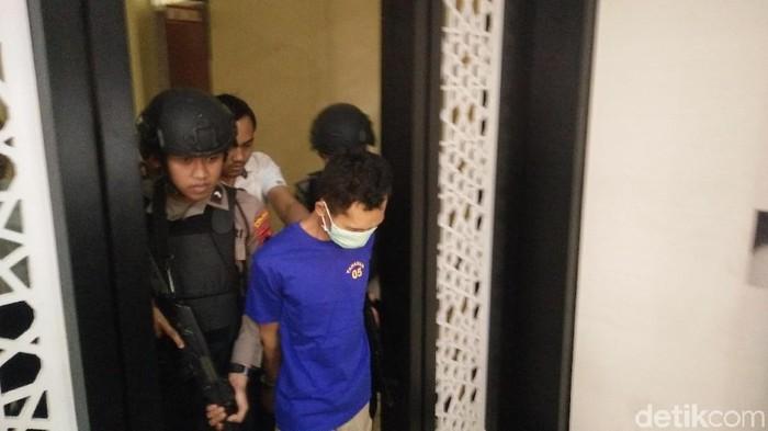 Deni Prianto pelaku mutilasi terhadap Komsatun Wachidah. Foto: Arbi Anugrah/detikcom