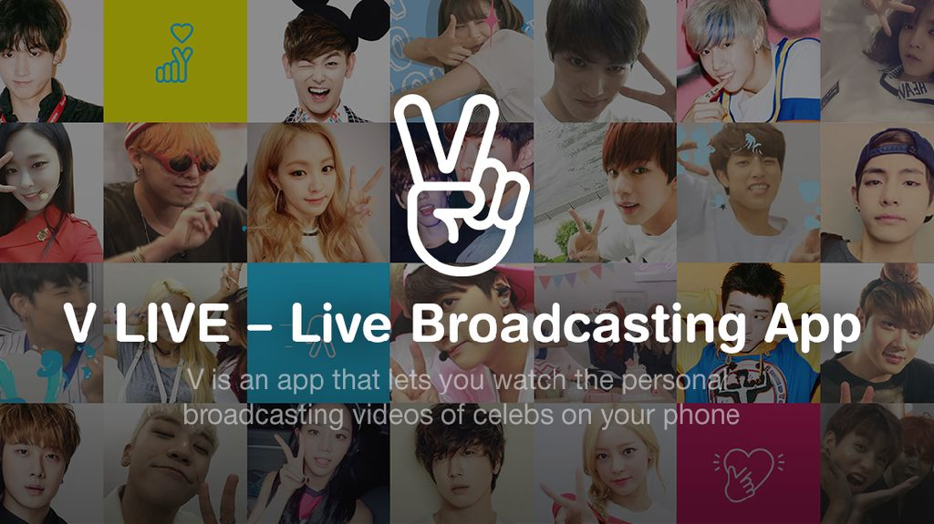 V Live, Layanan Streaming Korea yang Lagi Booming