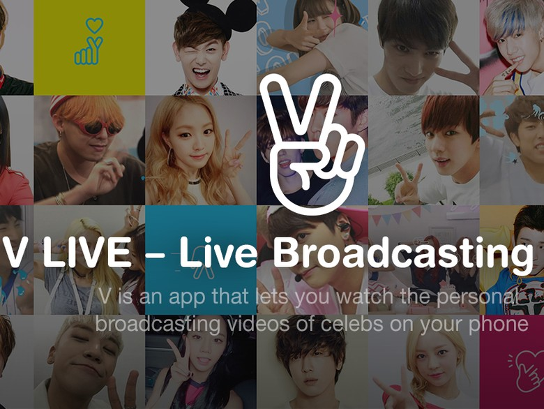 V Live, Layanan Streaming Korea yang Lagi Booming Foto: internet