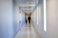 Koridor penjara yang tidak menampilkan kesan kelam (BBC)