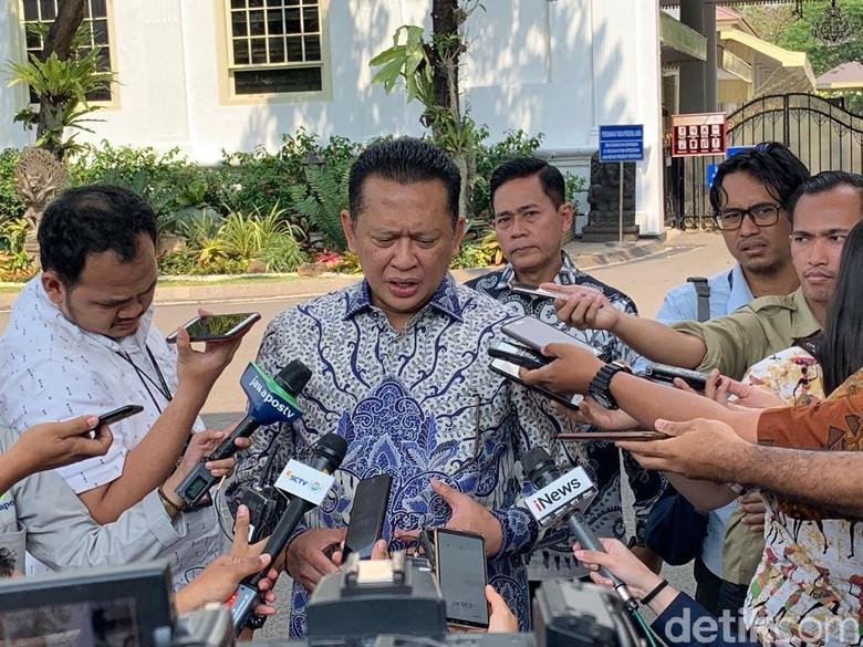 Jokowi Undang Bamsoet ke Istana Siang Ini, Bahas Apa?