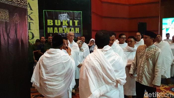 Para calon haji harus mempersiapkan fisiknya sebelum berangkat haji. (Foto: Ardhi Suryadhi)