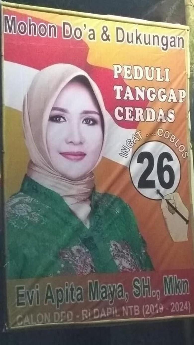Tok! Evi Kelewat Cantik Ditetapkan KPU Lolos ke Senayan Jadi Senator