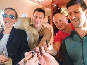 Intip Serunya Kulineran Petenis Dunia Novak Djokovic