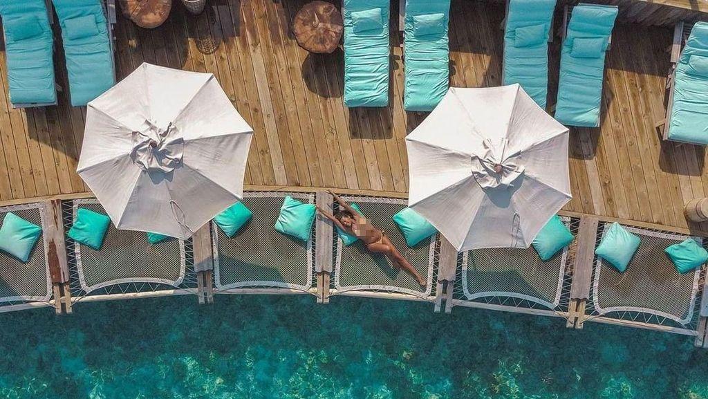 Foto: Mewahnya Hotel Joe Jonas dan Sophie Turner Bulan Madu di Maldives