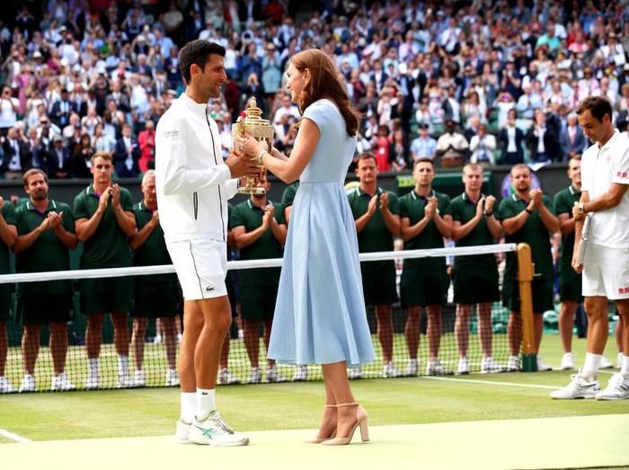 Kate Middleton di final Wimbledon 2019 (Foto: Getty Images)
