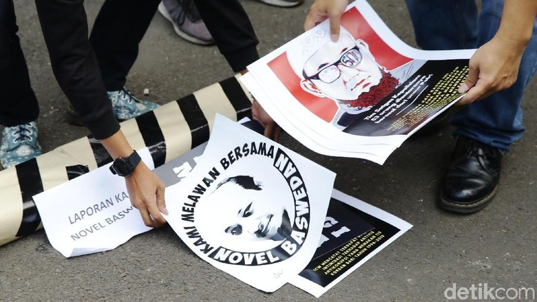 ICW: Tak Tuntasnya Kasus Novel Baswedan Malah Jadi Beban Polri