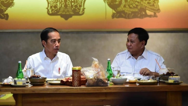 Gerindra: Prabowo, Megawati, dan Jokowi Bertemu Besok Siang